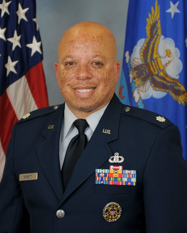 Lt. Col. Mario Verrett was removed as commander of the 496th Air Base Squadron and U.S. Forces Moron Air Base in Spain on April 28. (Air Force)