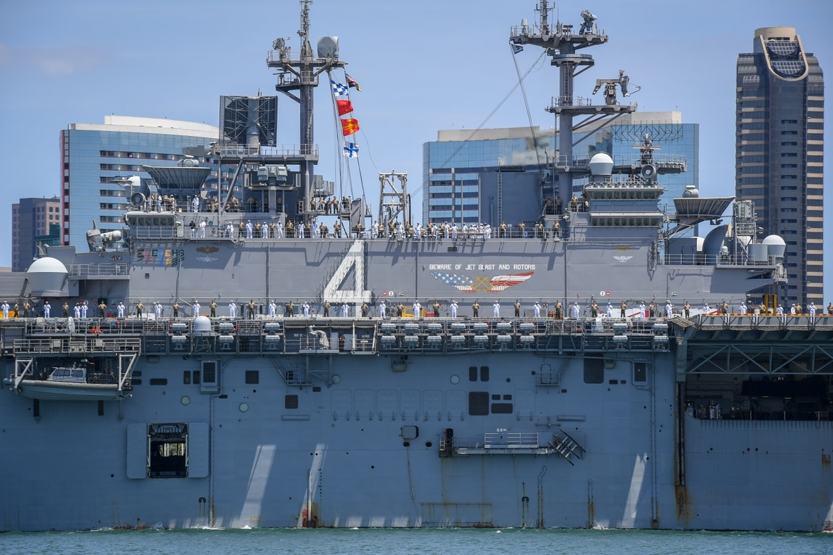 the navy is running a data experiment with its latest deployment
