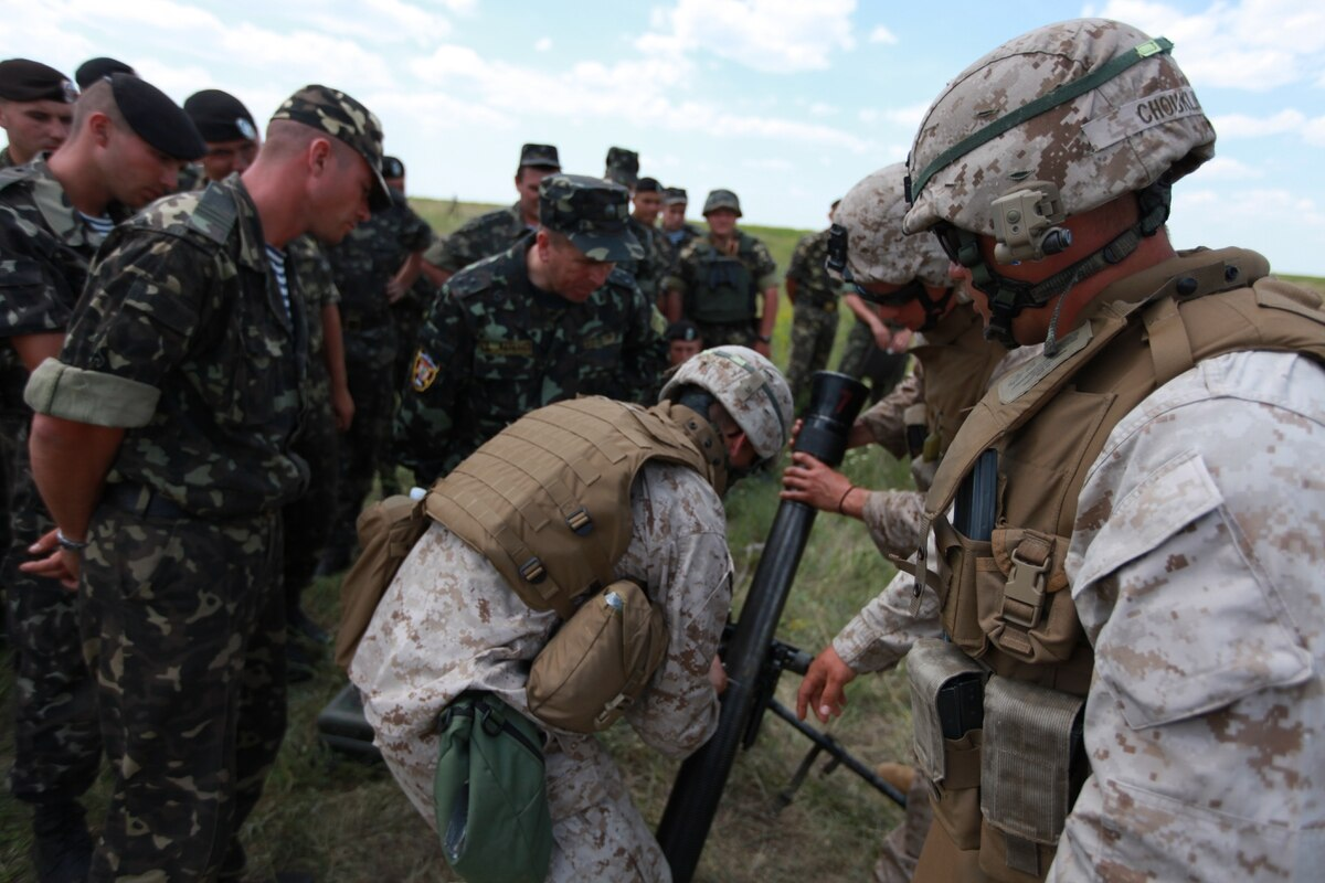 9c0851574f Marine Corps could expand training mission in Ukraine