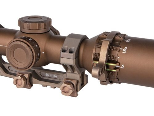 The Sig Sauer TANGO6T was selected by SOCOM as one of their sniper scopes. It is an advanced version of the TANGO6, picked by the Army last year for their Squad Designated Marksman program. (Sig Sauer)