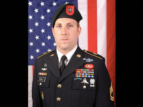 Sgt. 1st Class Michael James Goble died in Afghanistan on Dec. 23, 2019, due to injuries sustained during combat operations the day before.