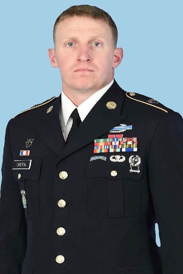 Sgt. 1st Class Shawn Green, a Green Beret assigned to 1st Special Forces Group, died in a non-combat incident April 26, 2018, while serving in Papua New Guinea. (U.S. Army photo)