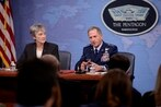 Air Force secretary defends clampdown on public engagements