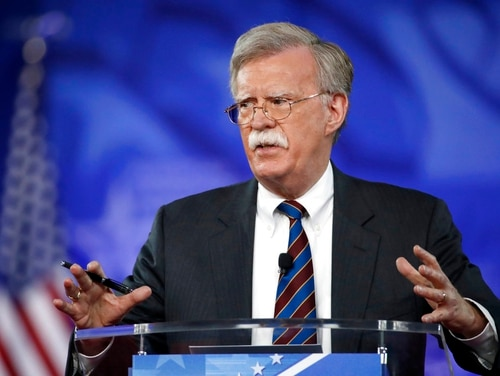 In this Feb. 24, 2017, file photo, former U.S. Ambassador to the U.N. John Bolton speaks at the Conservative Political Action Conference (CPAC) in Oxon Hill, Md. President Donald is replacing National security adviser H.R. McMaster with Bolton. (Alex Brandon/AP)