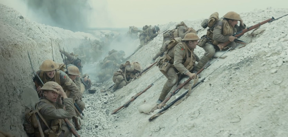 The first trailer for the star-studded World War I film '1917' is