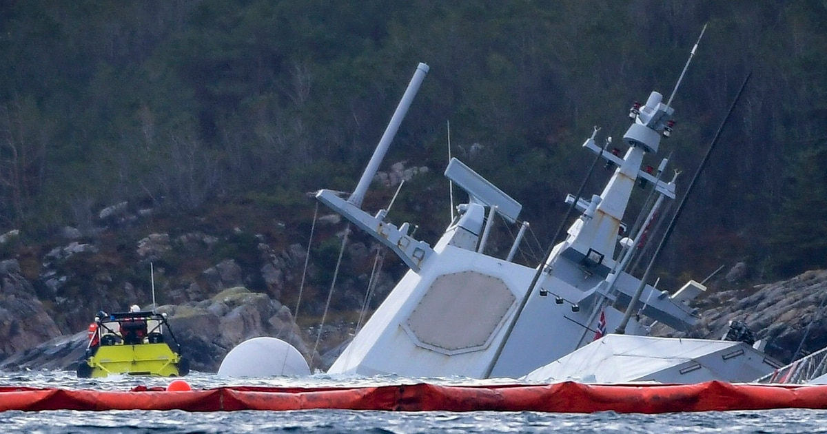 Safety report slams the Norwegian Navy for training, safety shortfalls in the runup to frigate sinking