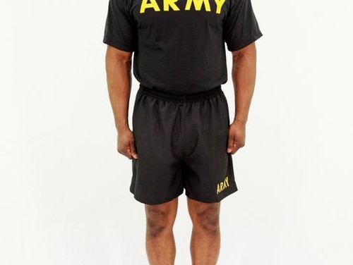 Views of the new Army Physical Fitness Uniform. Credit: ArmyViews of the new Army Physical Fitness Uniform. MSG Owens is the model. Credit: Army