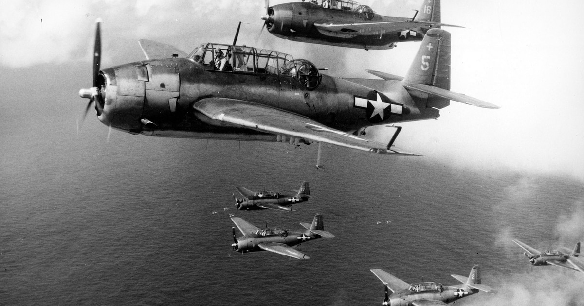 Three downed aircraft, associated with seven MIAs from famous WWII battle, located in Pacific Ocean