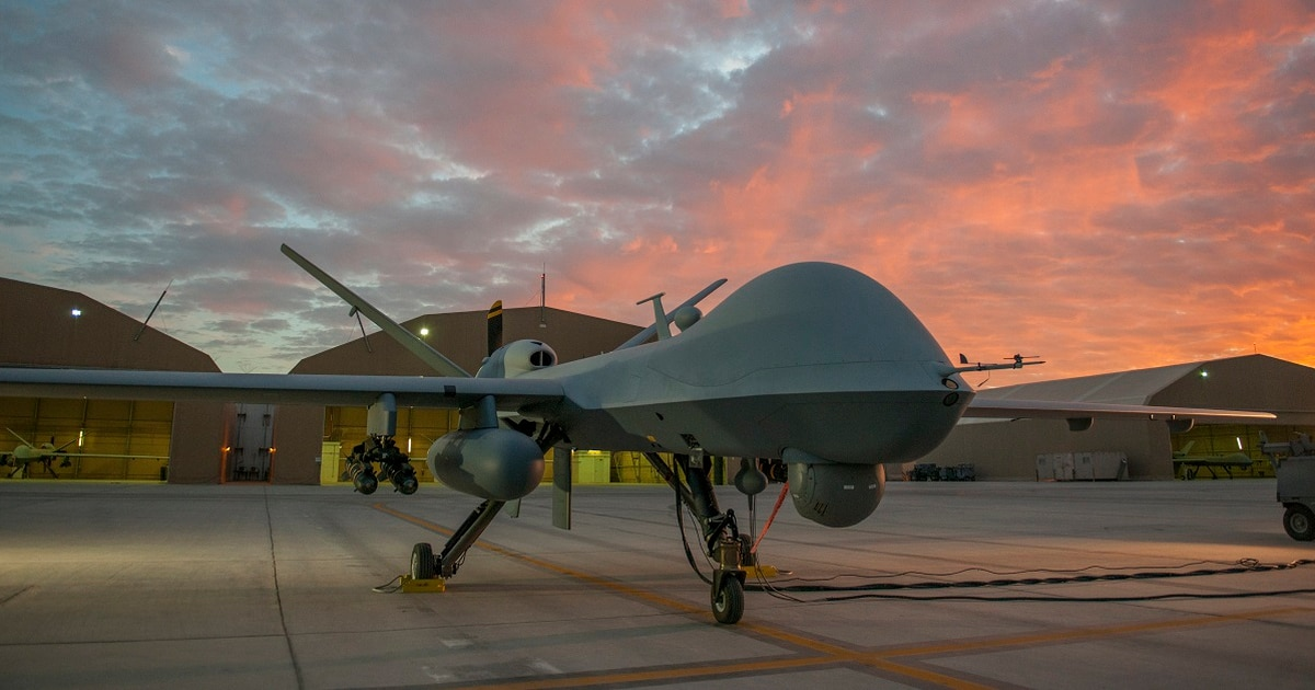 With Reapers in the sky, Helmand becomes a testing ground for the Corps' future fight