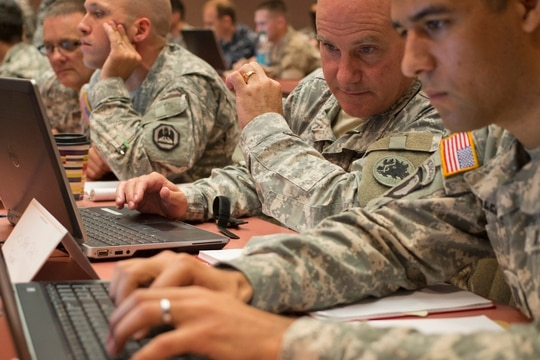 The Army and Estonia will work to identify and develop technologies of mutual interest. (Georgia Army National Guard photo by Staff Sgt. Tracy J. Smith)