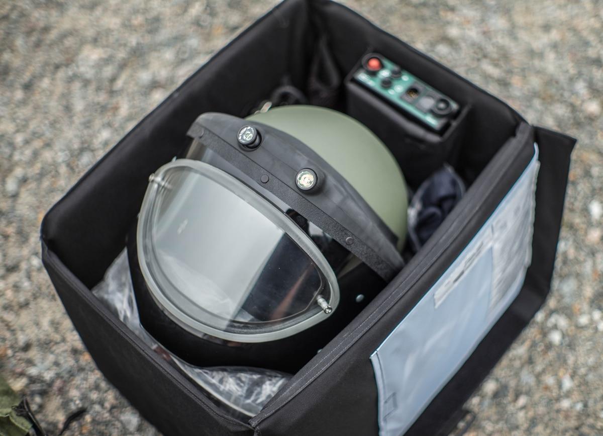 EOD officer attempts half-marathon – in a bomb suit