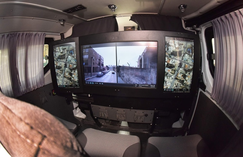 The interior view of the new CT-MENTOR system. (Rafael Advanced Defense Systems)