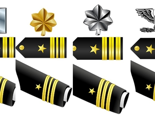 The Navy has announced some promotion board results for active-duty and Navy Reserve lieutenants, lieutenant commanders, commanders and captains. (File)