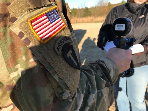 Soldiers with the 82nd Airborne are part of a two-week study to measure a battery of biological and cognitive performances that researchers hope will help better prepare troops for strenuous operations. (Natick Soldier Research Development and Engineering Center)
