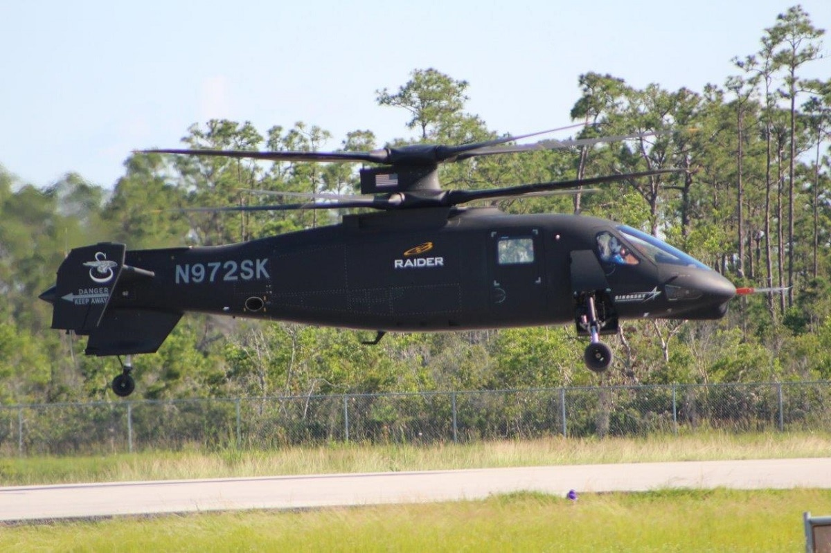 Experimental helicopter Raider cleared for full flight test program
