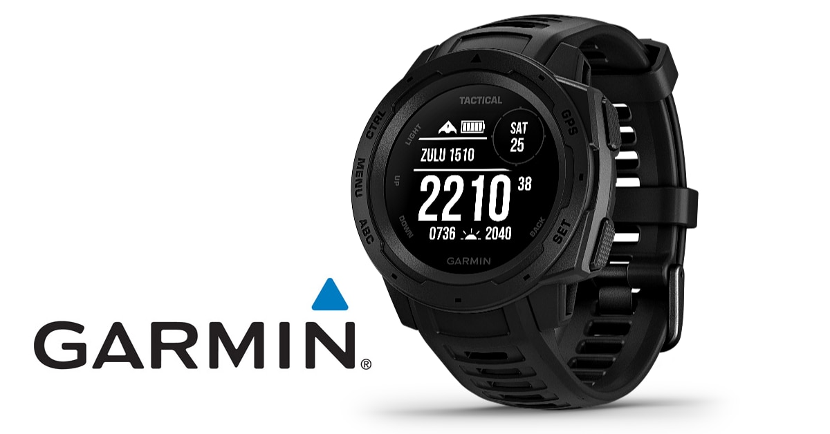 Garmin releases the Instinct Tactical Edition watch