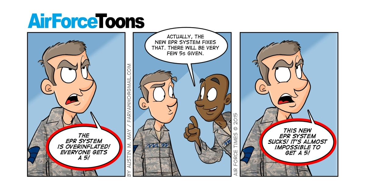 Some airmen skeptical of new enlisted promotion system