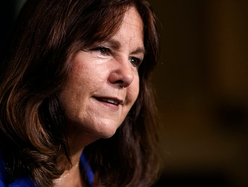 Karen Pence says she understands how challenging employment issues can be for military spouses, and she wants to help. (Carolyn Kaster/Associated Press)