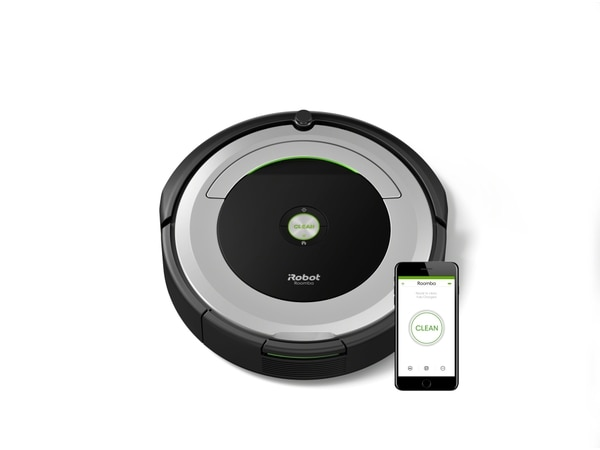 The Roomba 690 can take orders from an Alexa-enabled device, or an app. (Manufacturer photo)