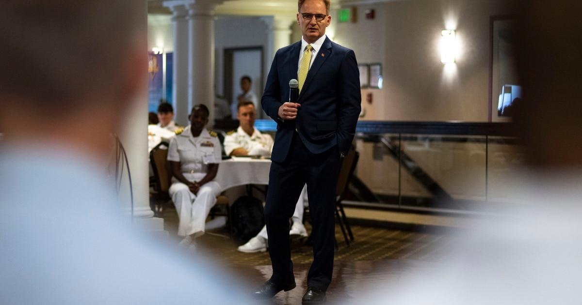 Navy Secretary resigns, capping 24-hour Theodore Roosevelt fiasco