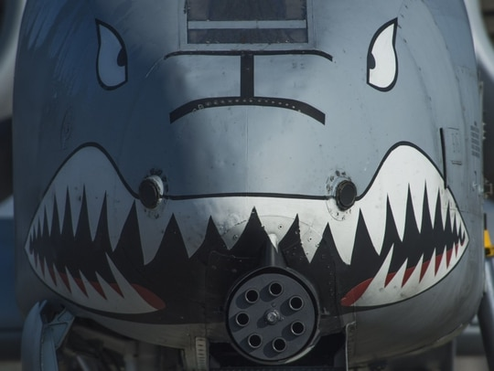 The Air Force on Thursday apologized and pulled a tweet that referenced a viral Internet meme in connection with an Afghanistan battle utilizing A-10s, which some felt was in poor taste. (Staff Sgt. Joe W. McFadden/Air Force)