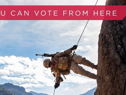 A new coalition aims to boost voting in the military community and safeguard those voting rights. (Federal Voting Assistance Program)