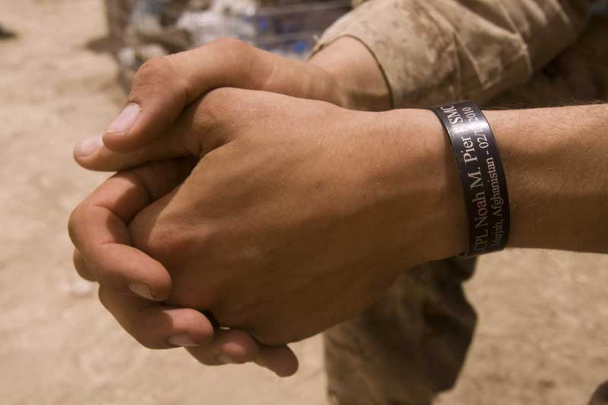 Marines Frustrated By Ban On Kia Bracelets