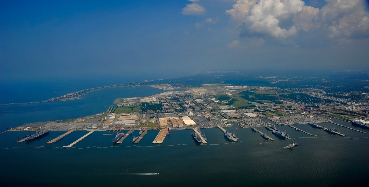 BREAKING: Navy installations in - Navy Region Mid