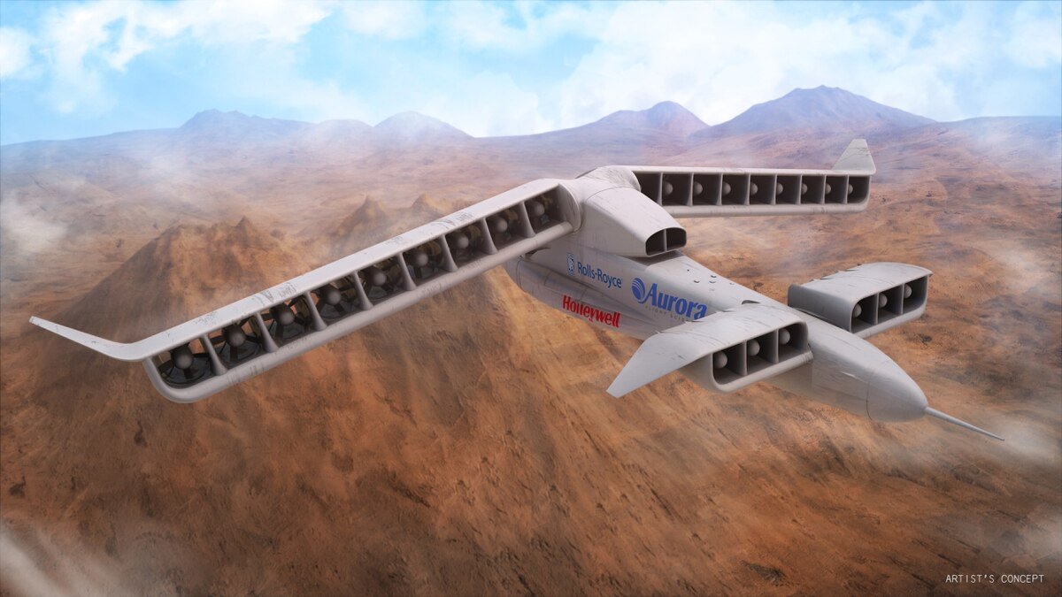 Electric Drones Aurora Team Behind Vtol X Plane Focuses On Hybrid Propulsion