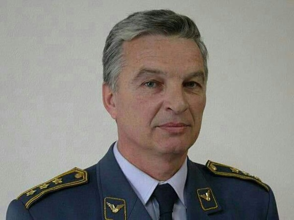Slobodan Janicijevic retired as a colonel from the Serbian Air Force and was excited fro his son's military career. (Courtesy photo)