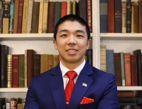 Kevin Jiang, a Yale grad student and Army National Guard officer, was found shot to death outside his car on a New Haven street. (Photo from LinkedIn)