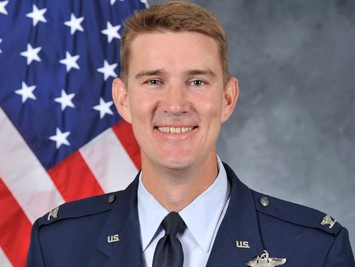 Col. John Howard, who was relieved of command of the 375th Air Mobility Wing at Scott Air Force Base, Illinois, Dec. 11, is under investigation for alleged sexual misconduct. (Air Force)