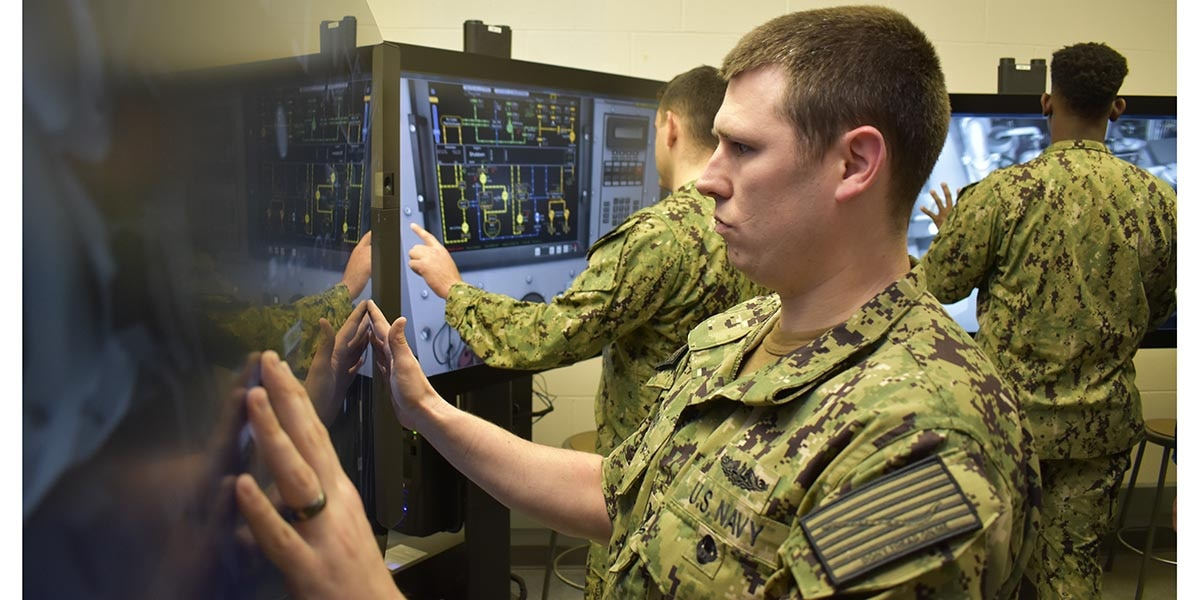 The Navy's new way to train students starts today