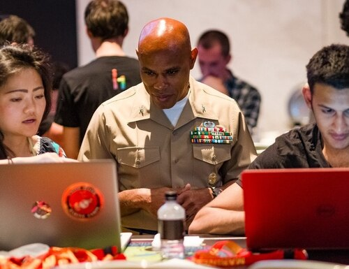 The Department of Defense's latest bug bounty program targeted vulnerabilities in Marine Corps websites. (HackerOne)