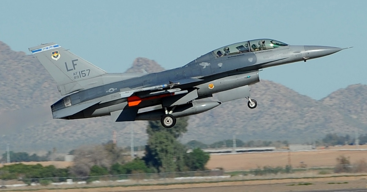 Fully operational F-16 fighter jet hits the market