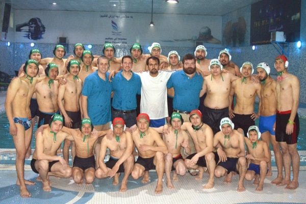 Marine introduces water polo to Afghanistan