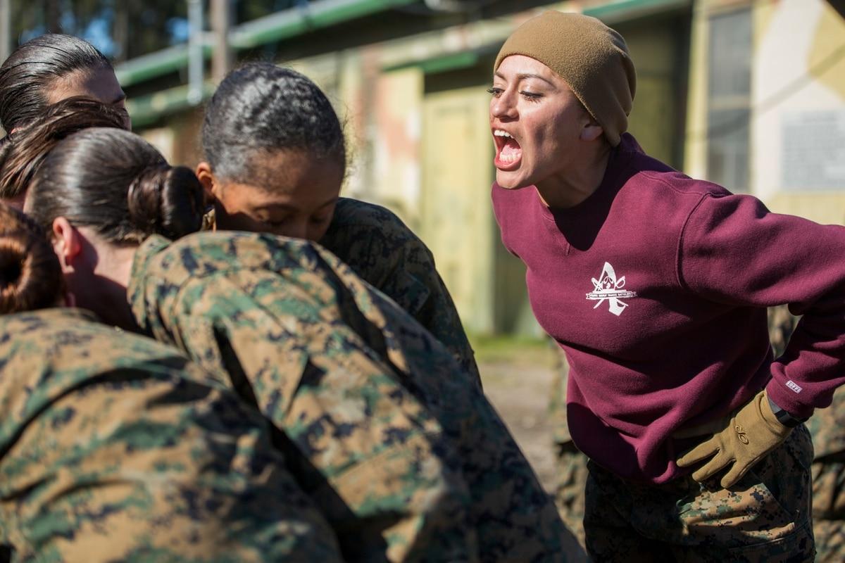 Instructor alleynes grueling boot camp