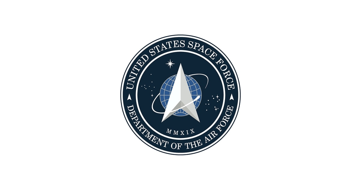 Here it is, the Space Force seal.