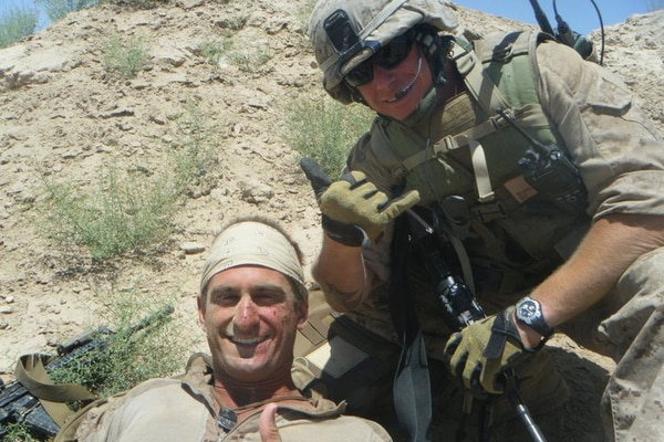 New legislation proposing changes to TAP is named for two Marines, Ryan Loya, left, and Jeremy Sears, right. (Ryan Loya)