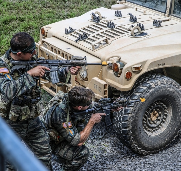 5th Special Forces Group just went old school with their