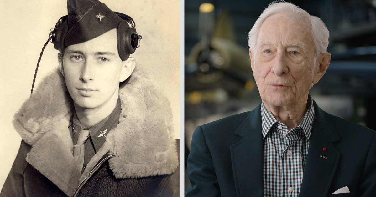 75 years after his last mission, WWII bomber pilot recounts 'sheer terror' of bombing runs over Nazi Germany