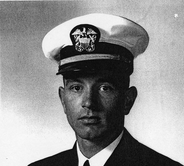 Navy Capt. James R. Bauder, 35, of San Fernando, Calif., was killed when his plane crashed off the coast of Vietnam on Sept. 21, 1966. His body was recovered by U.S. officials on Aug. 28, 2017. (Courtesy of DPAA)