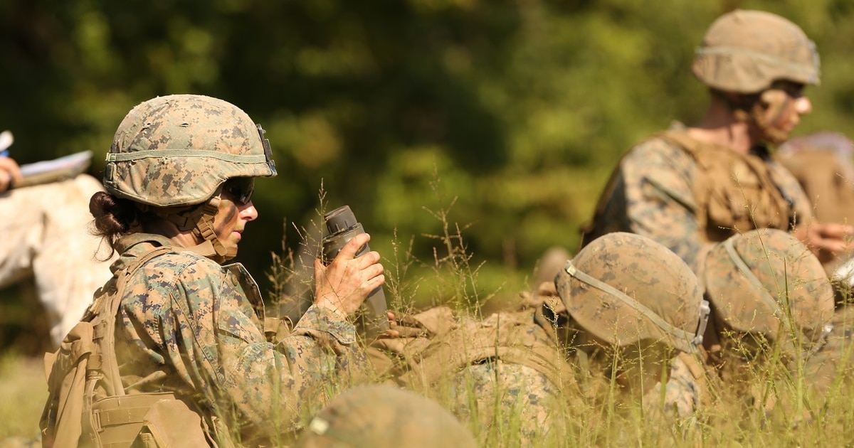 First female infantry Marine officer leaves Corps as commandant calls for more women at Infantry Officer Course
