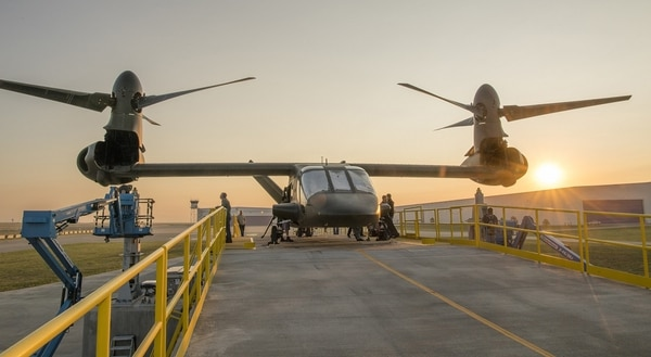 Bell Helicopter's V-280 Valor is part of the Joint-Multi Role demonstration being conducted ahead of the U.S. Army's Future Vertical Lift program of record. A new airframe is at the top of the Army's modernization priorities. (Courtesy of Bell Helicopter)
