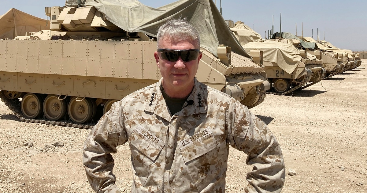 CENTCOM commander vows to keep the pressure on adversaries even after leaving Afghanistan: Exclusive interview