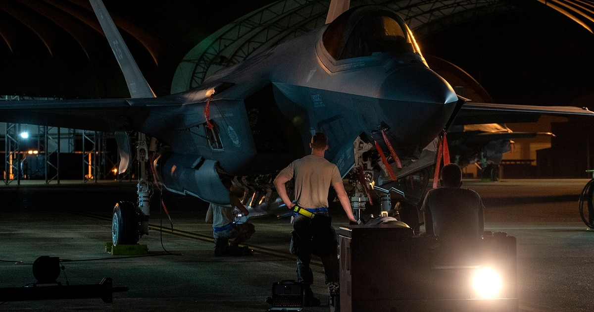 Key piece of F-35 logistics system unusable by US Air Force