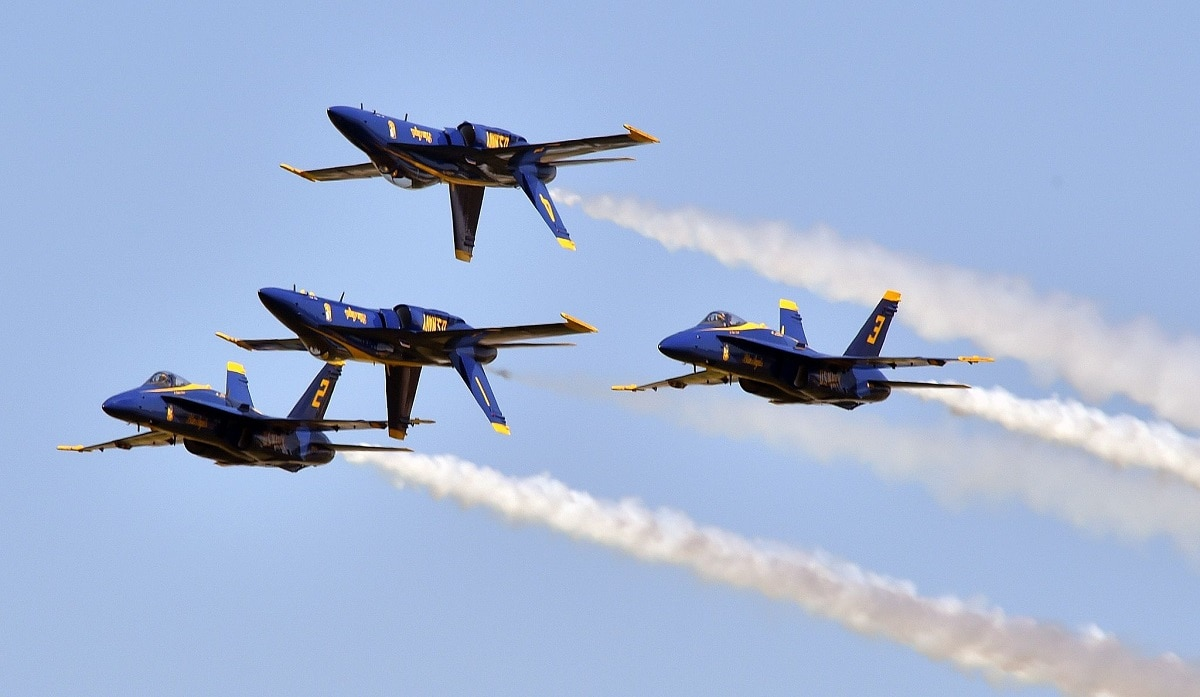 Bird Flies Into Jet Engine During Blue Angels Air Show Causing 1 Million In Damages