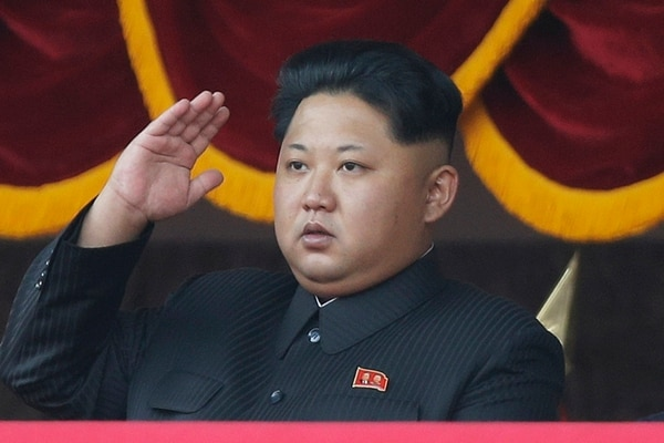 """In this Oct. 10, 2015, file photo, North Korean leader Kim Jong Un salutes at a parade in Pyongyang, North Korea. It's a single image released by an enormous propaganda apparatus, showing a note handwritten by a dictator. And it contains a telling clue to the mindset behind what has become the biggest story in Asia: North Korea's surprise and disputed claim to have tested its first hydrogen bomb. The Dec. 15, 2015, note from leader Kim Jong Un calls for a New Year marked by the """"stunning sound of the explosion of our country's first hydrogen bomb."""" (AP Photo/Wong Maye-E, File)"""