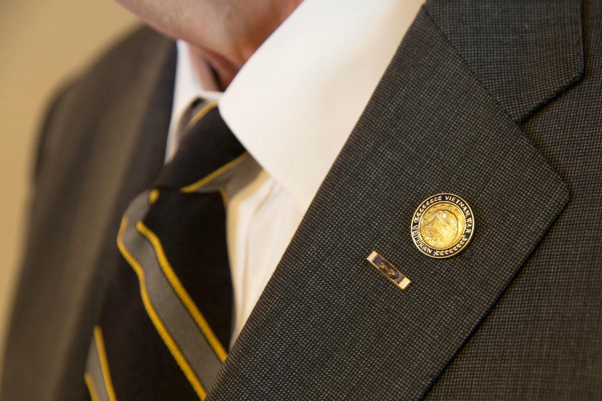 Large Hat Pin Air Force Combat Control Badge Jacket NEW