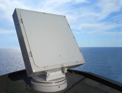 Italy's Leonardo has announced new systems, including an electronic radar. Above, Leonardo's Kronos Grand Naval, which is a multifunctional radar used as the main radar for the Principal Anti-Air Missile System. (Leonardo)